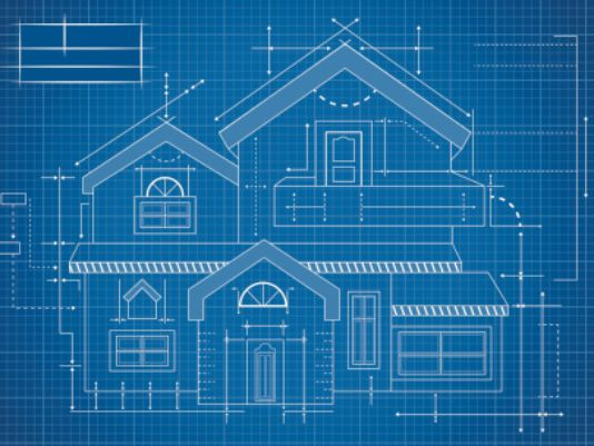 House Building Blueprint Images